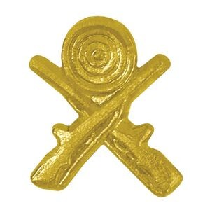 Crossed Rifles Chenille Lapel Pin